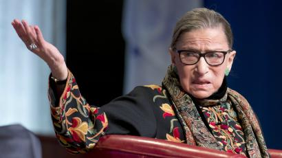 Ruth Bader Ginsburg is a Supreme Court Justice, cancer survivor, one of Time magazine's 100 most influential people, and the namesake of a praying mantis ...