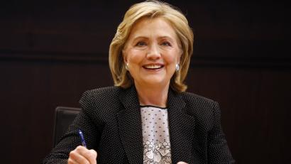Hillary Clinton book signing