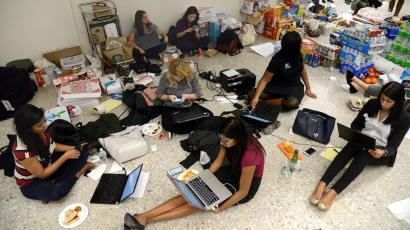 Immigration lawyers—like the ones helping stranded