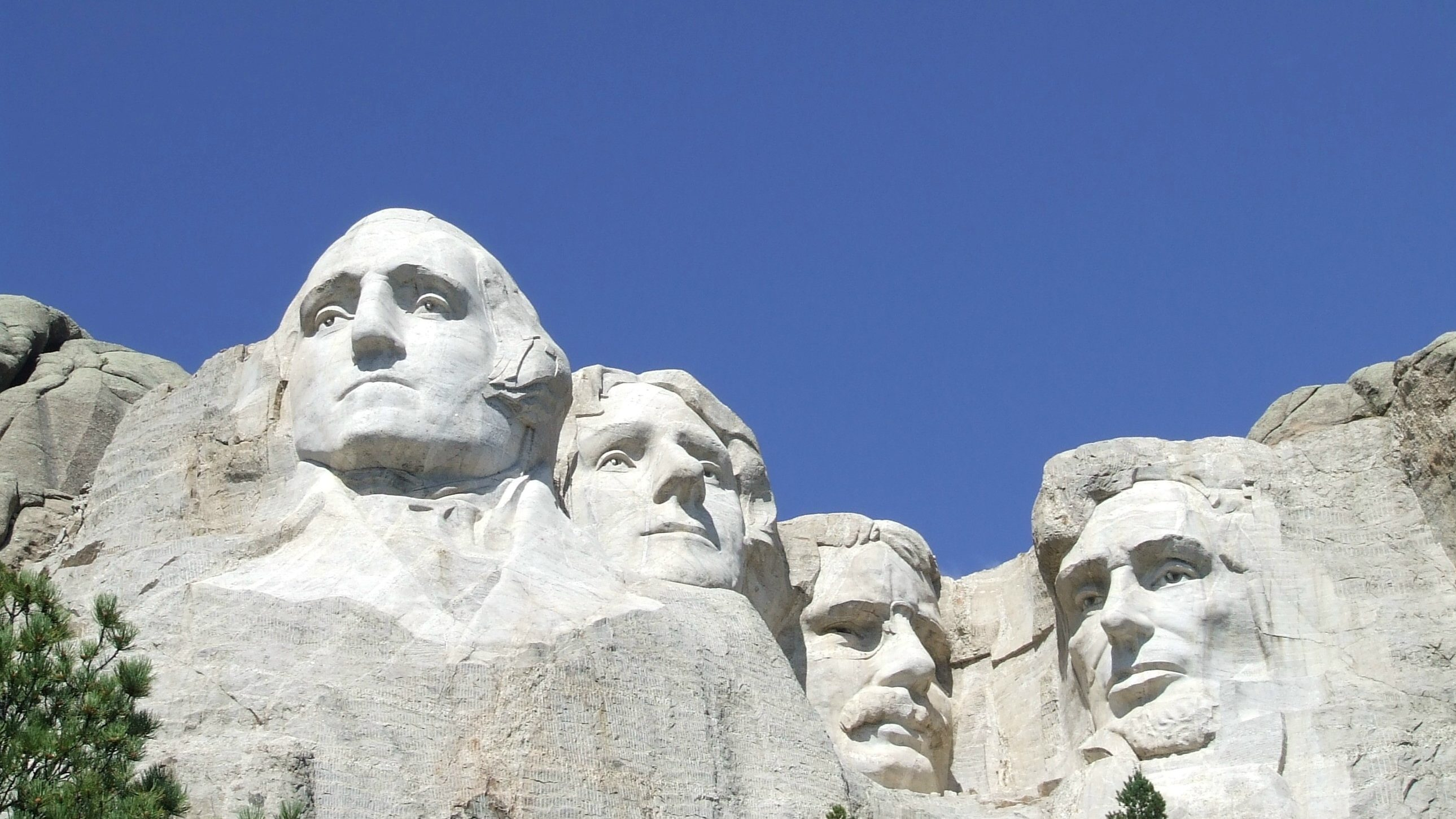 U.S. presidents George Washington, Thomas Jefferson, Theodore Roosevelt and Abraham Lincoln are sculpted on Mount Rushmore National Memorial in the Black Hills region of South Dakota, U.S. in this U.S. National Park Service photo taken on April 12, 2013.