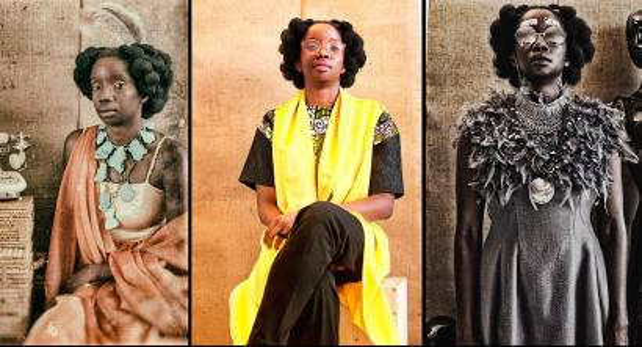 These photos are part of Salooni, a mulit-disciplinary experiential art project created by four female Ugandan artists; Kampire Bahana, Darlyne Komukama, Aida Mbowa and Gloria Wavamunno.
