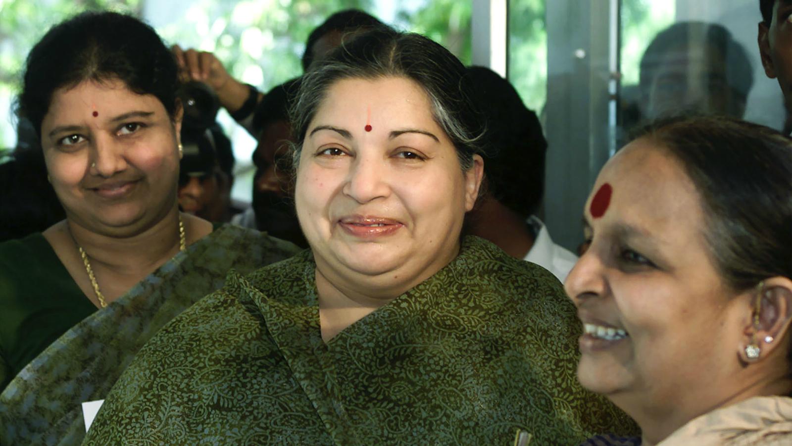 Sasikala Natarajan-Jayalalithaa-Tamil Nadu