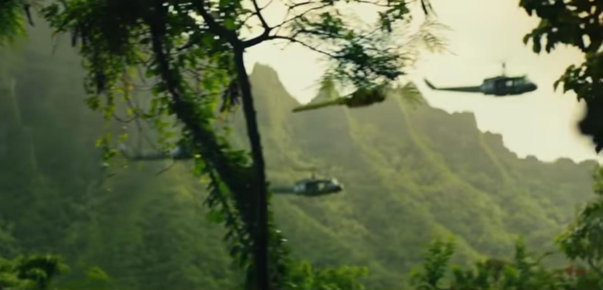 kong: skull island hawaii mountain