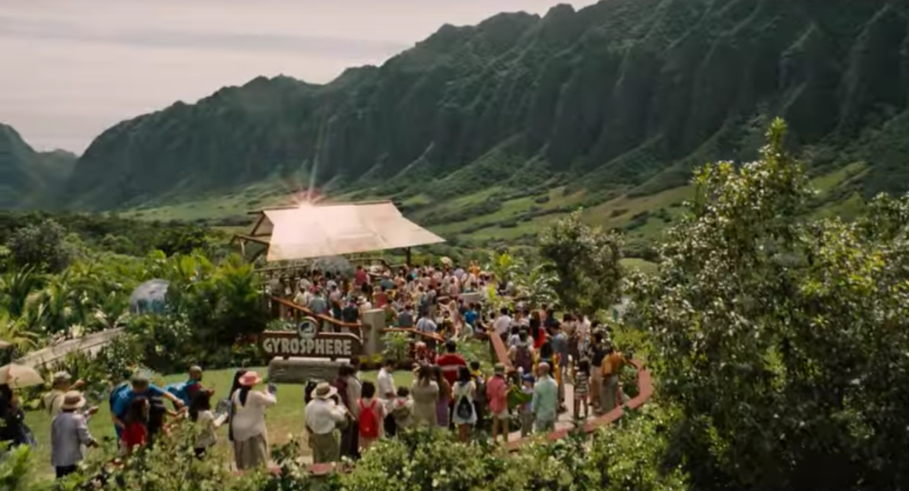 This mountain at Kualoa Ranch in Hawaii has appeared in