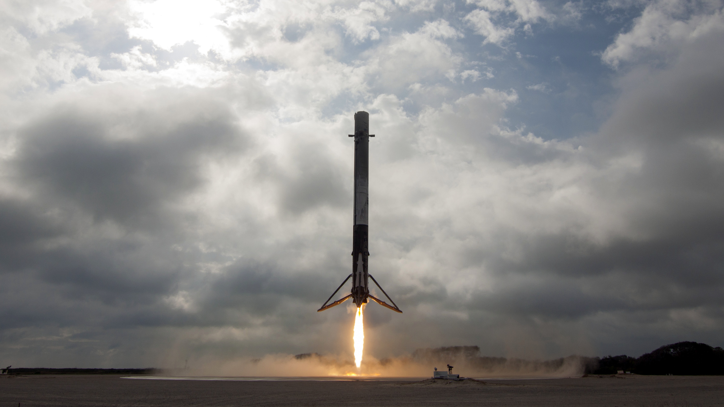 Exs Self Landing Rocket Is A Flying Robot Thats Great At Math