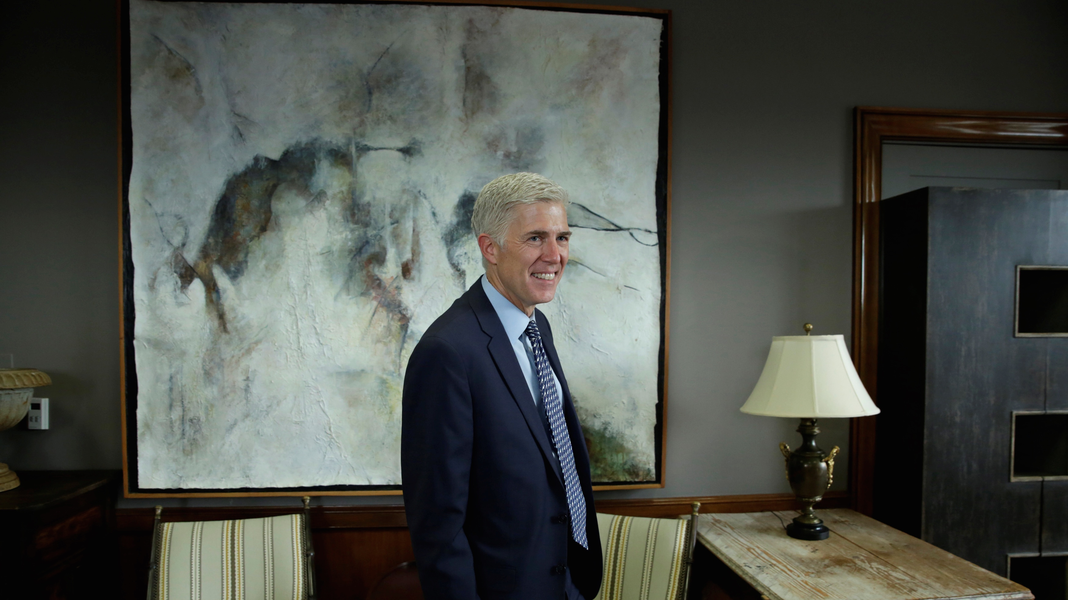 US Supreme Court nominee Judge Neil Gorsuch.
