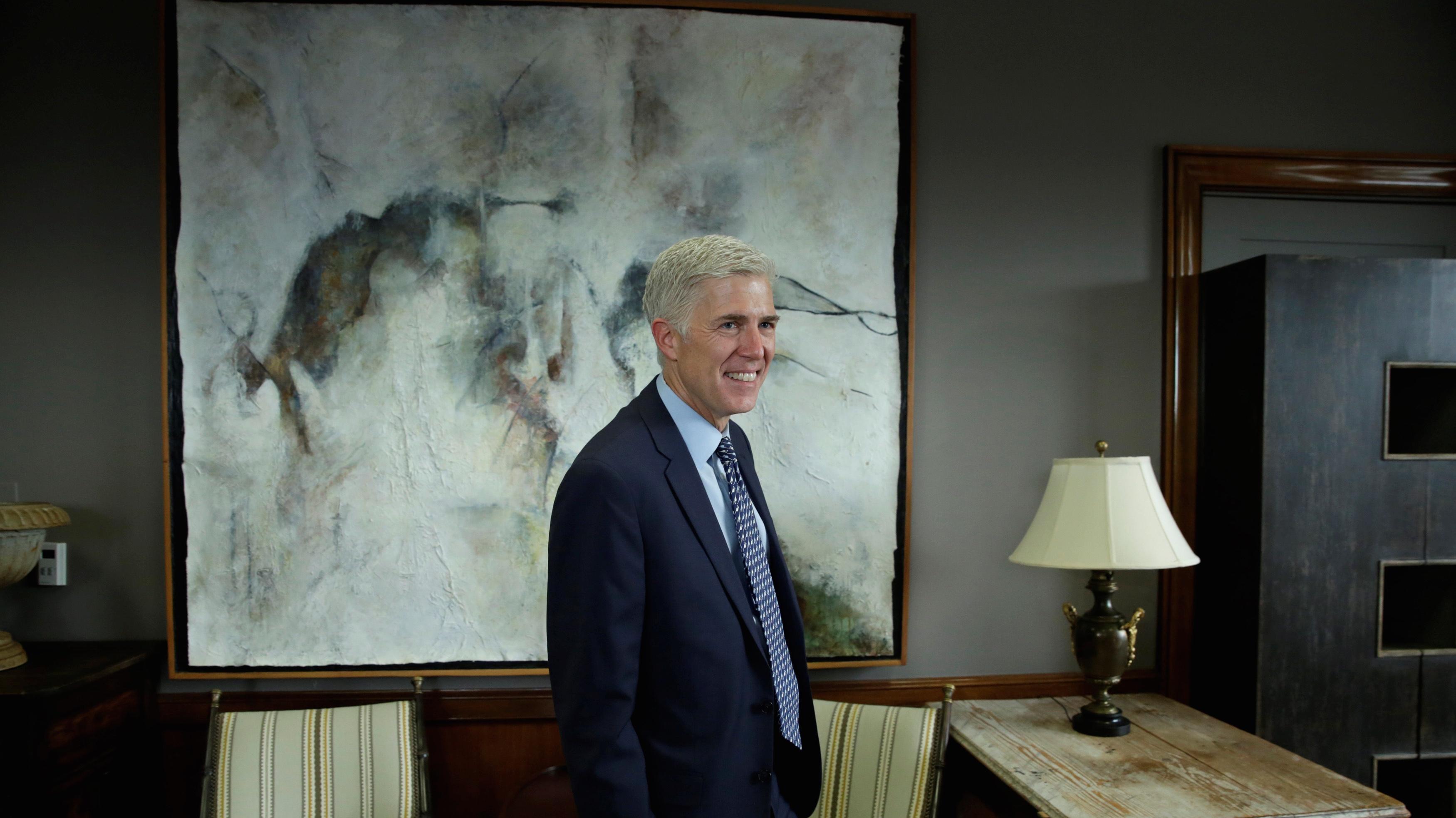 US Supreme Court nominee Judge Neil Gorsuch.