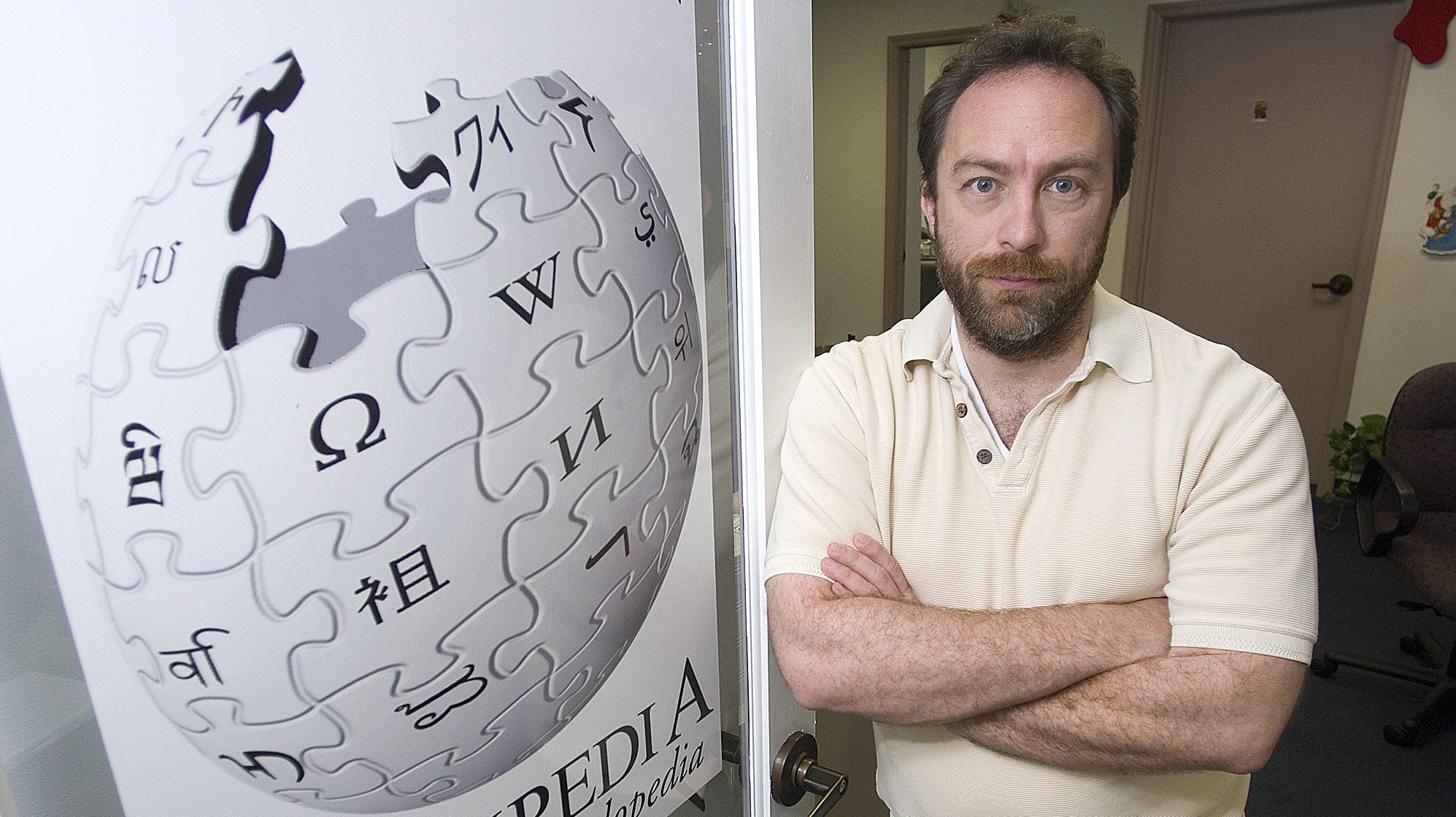 Wikipedia, Jimmy Wales