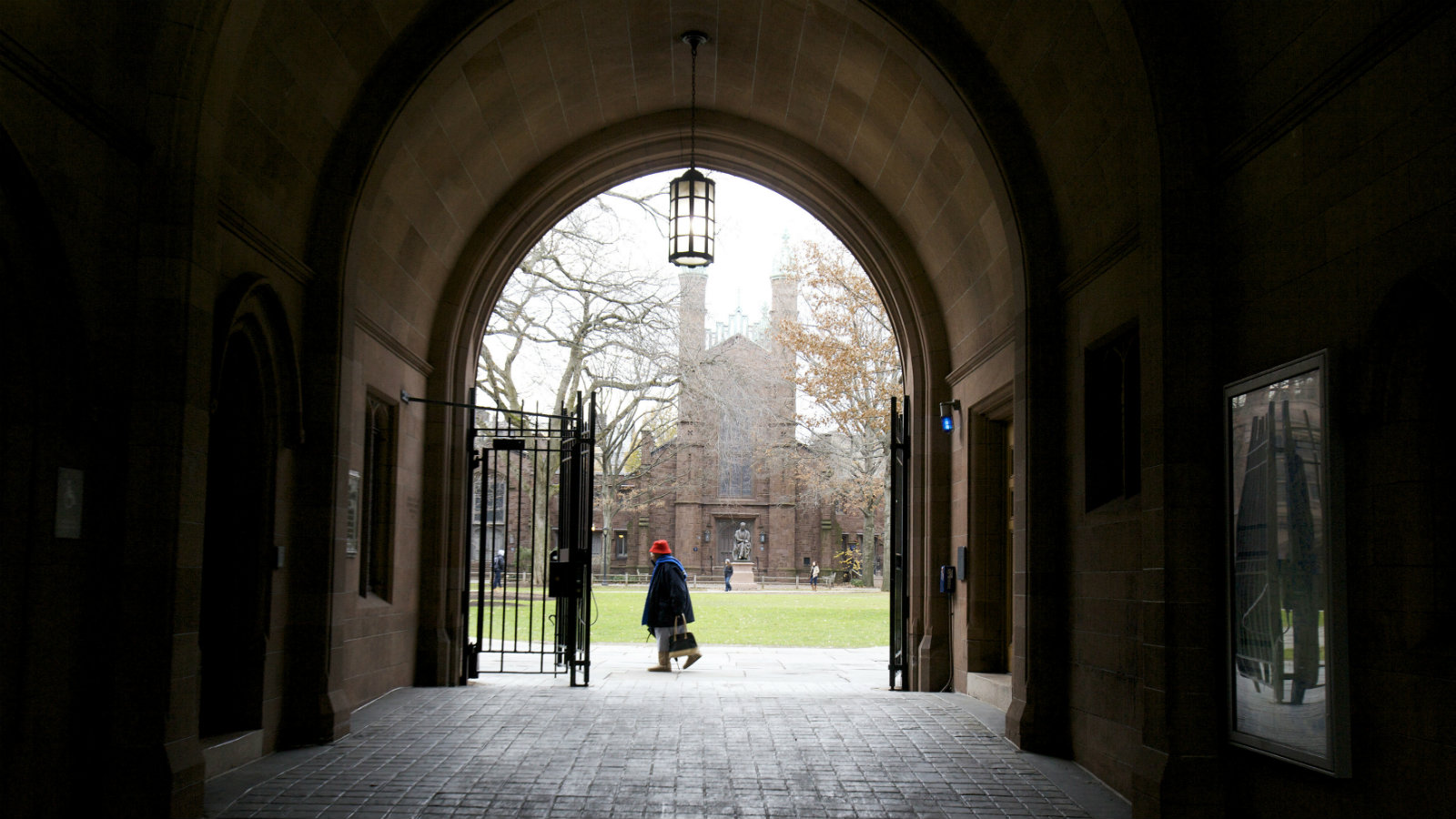 The Old Campus at Yale University, Connecticut.