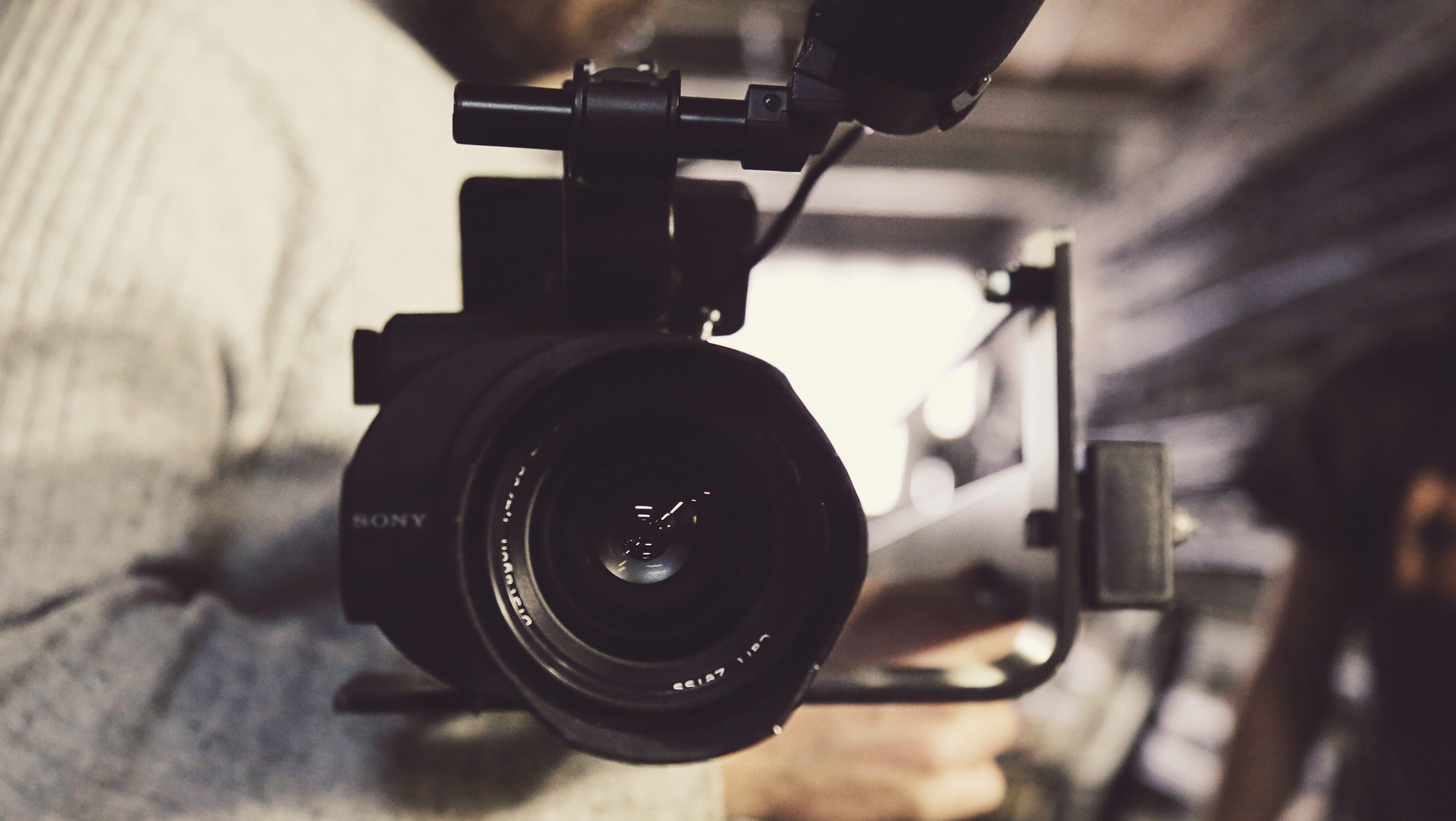 A video camera.