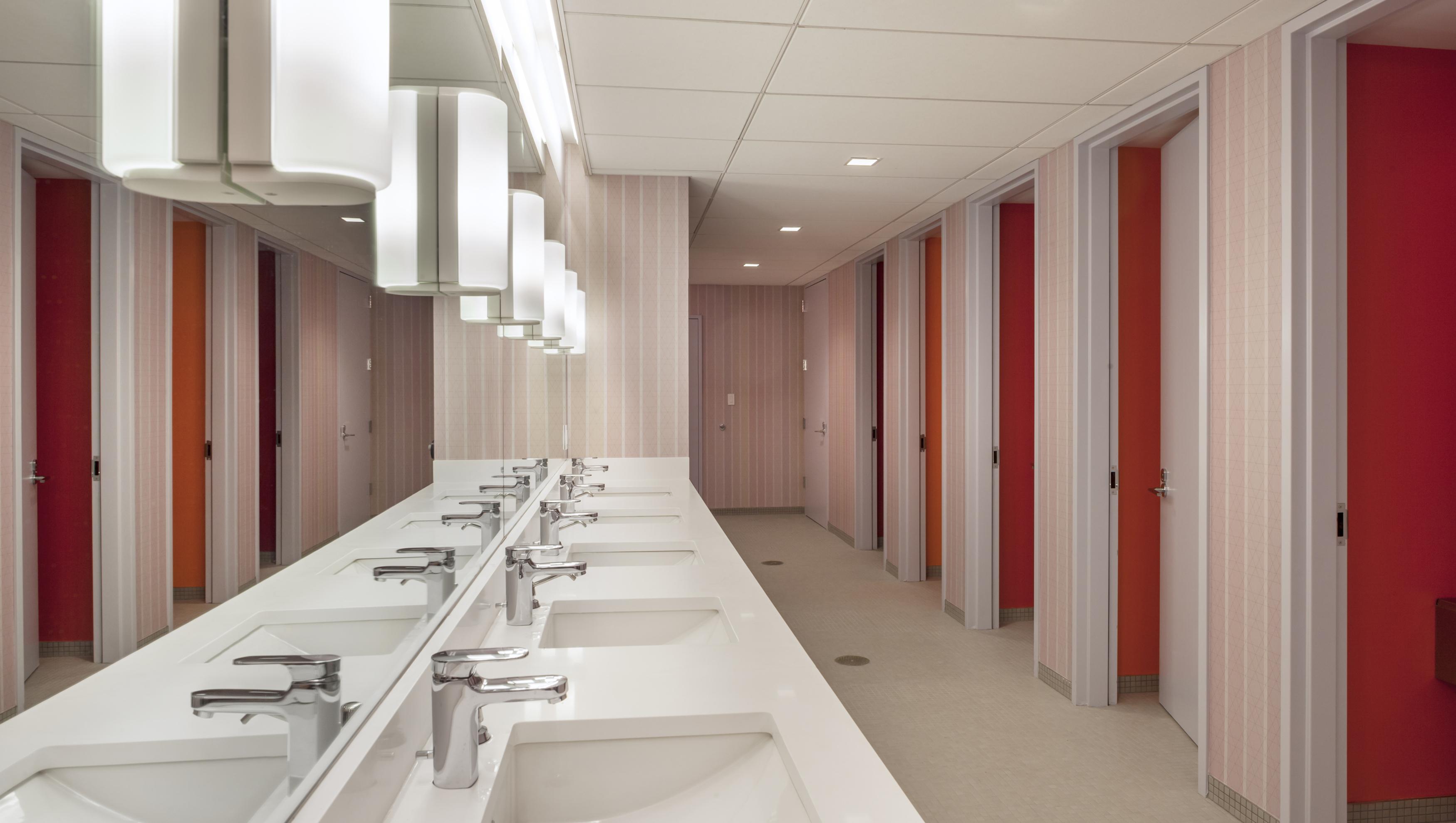 how to design transgender friendly bathrooms that make gender inclusive individual bathrooms Gender -Neutral Bathroom