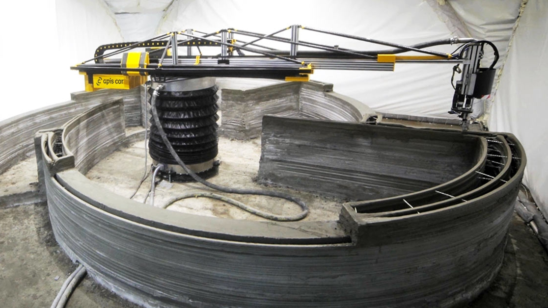 Apis Cor Can 3d Print An Entire House In Just One Day Quartz