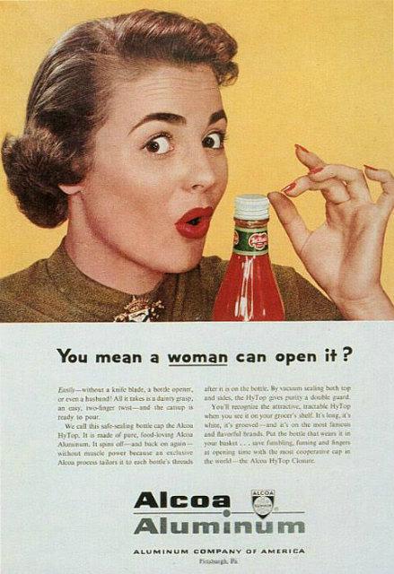 1953 Alcoa Aluminum ad