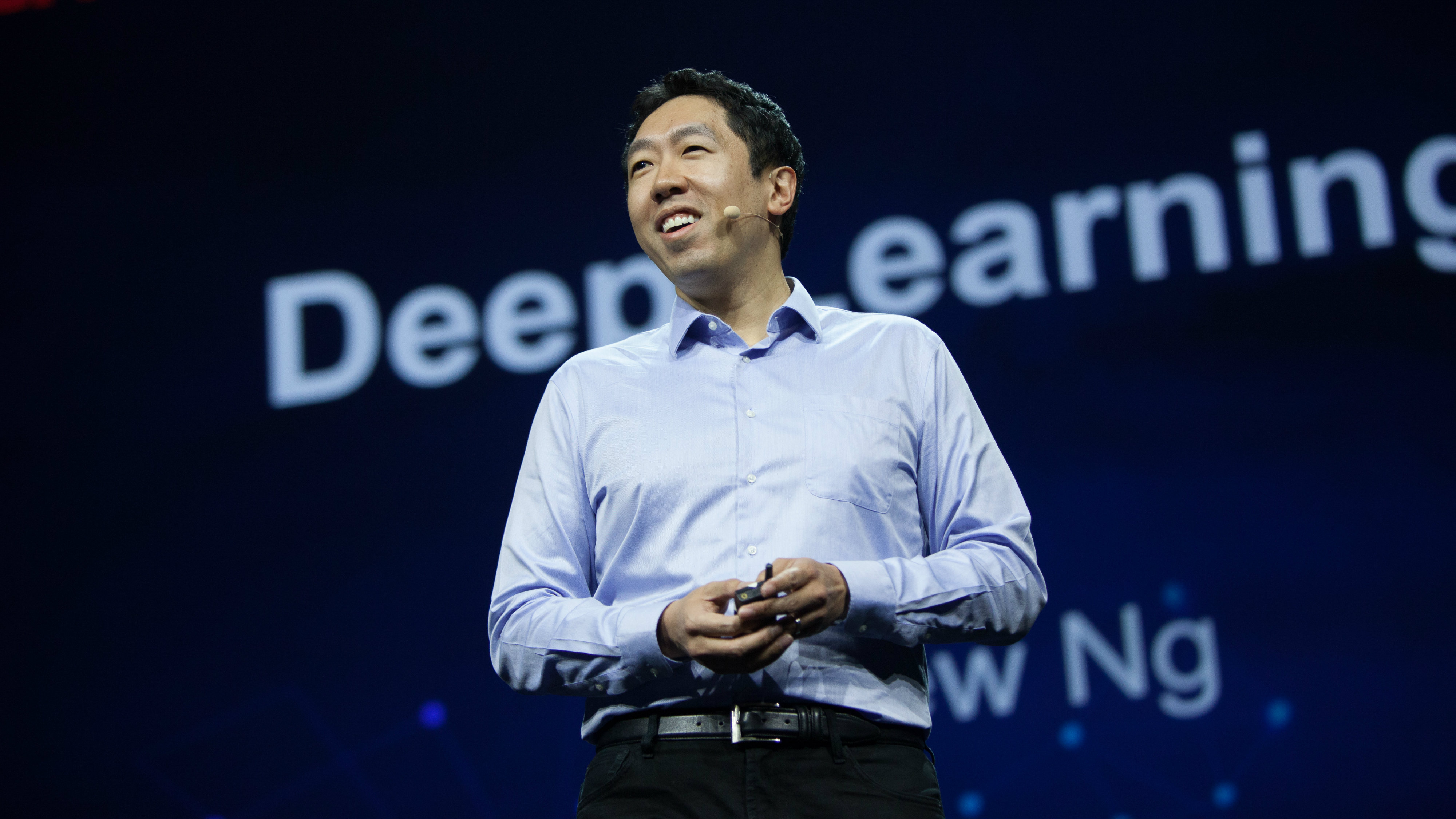 Now-former Baidu chief scientist Andrew Ng