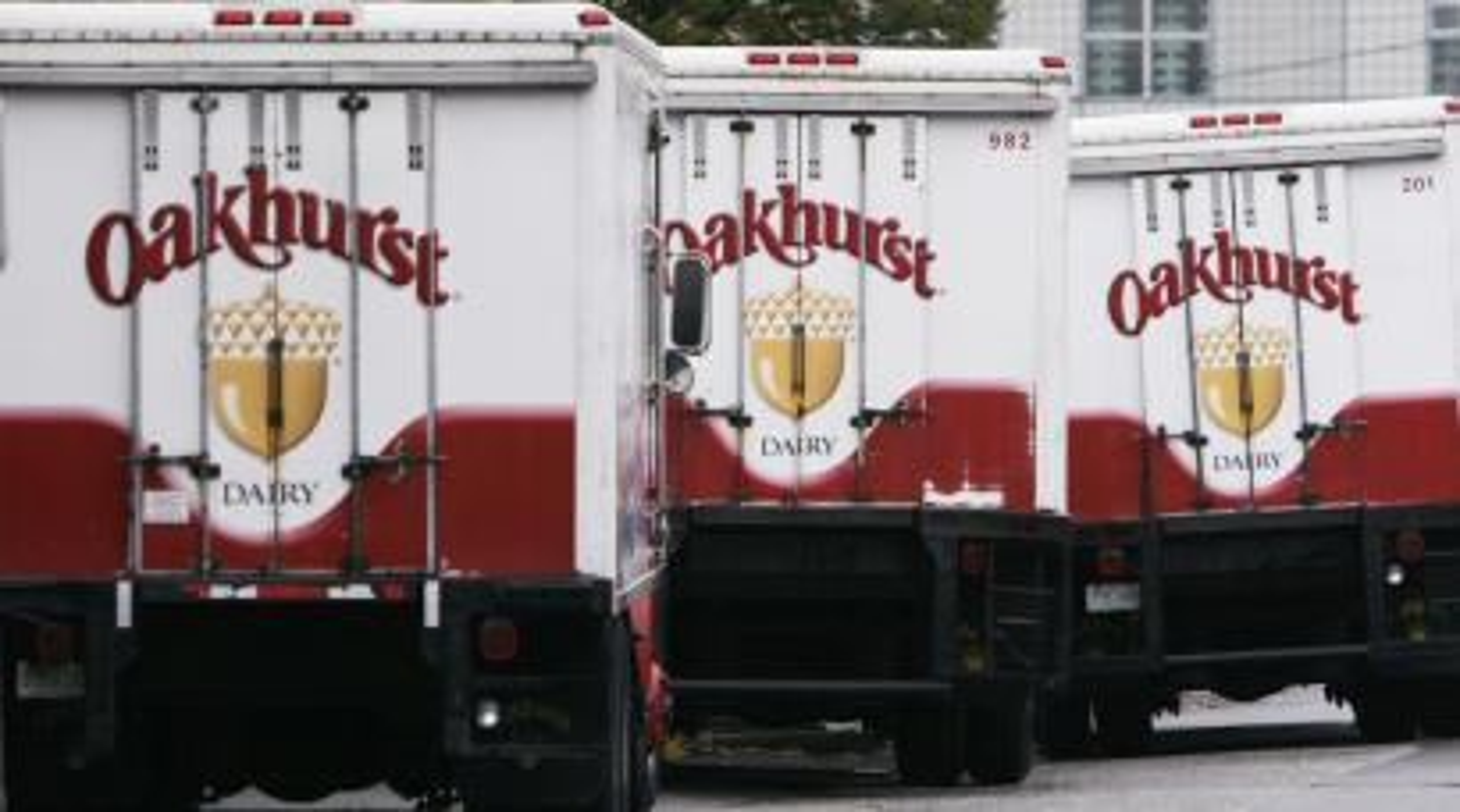 Oakhurst dairy trucks
