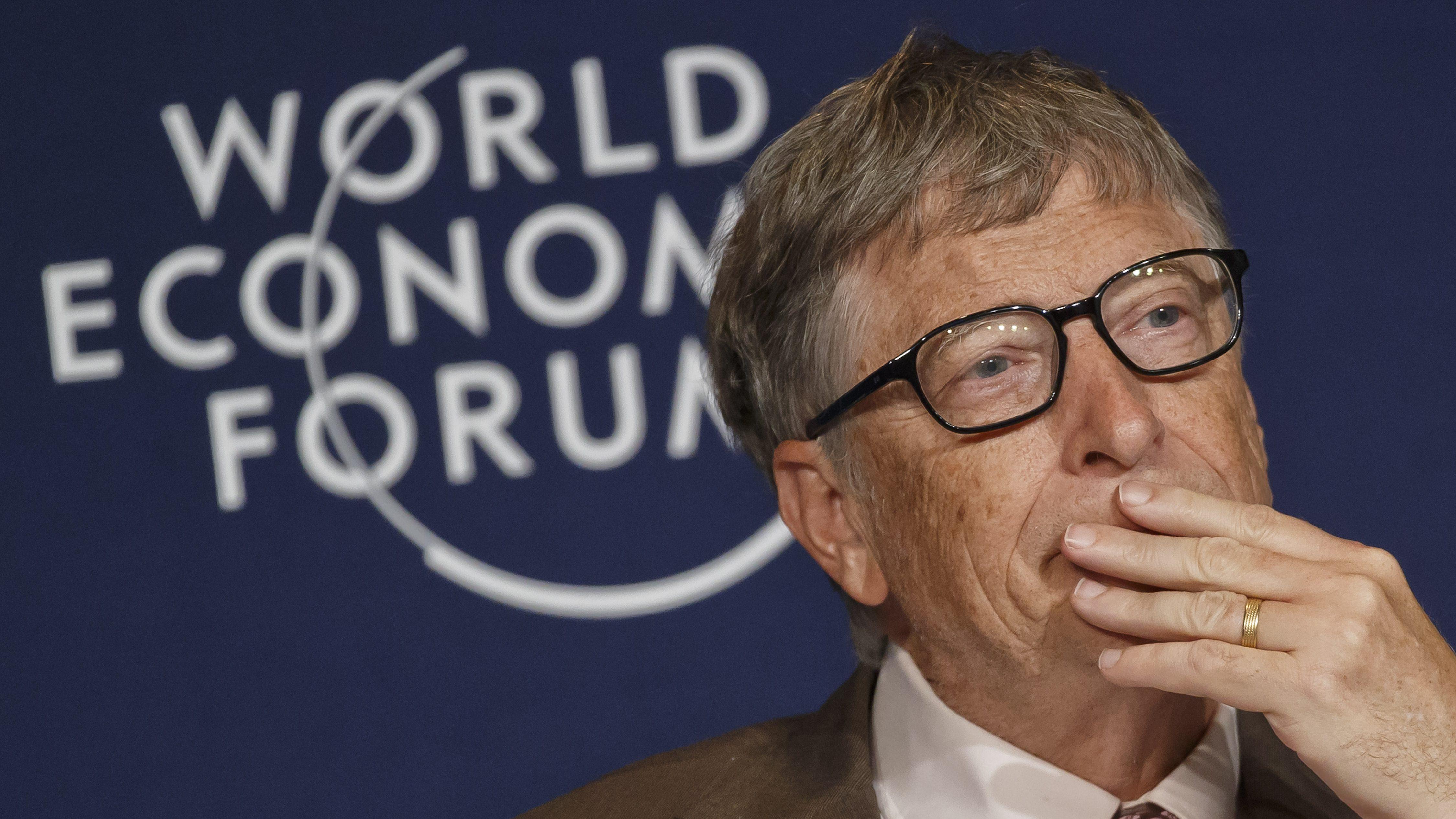 Bill Gates Davos