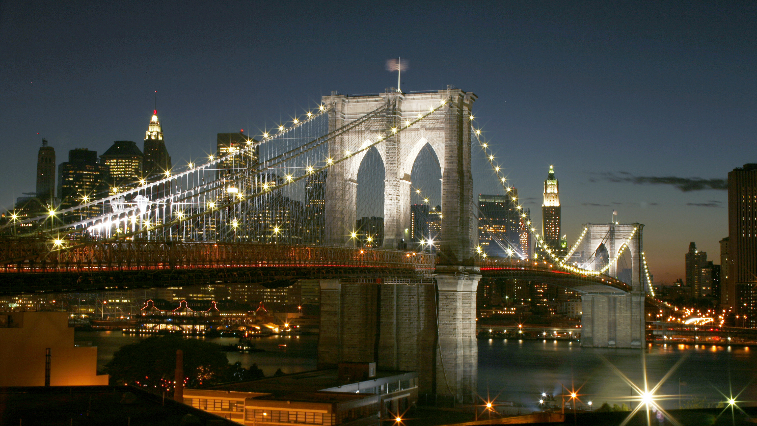 Picture of the Brooklyn Bridge.
