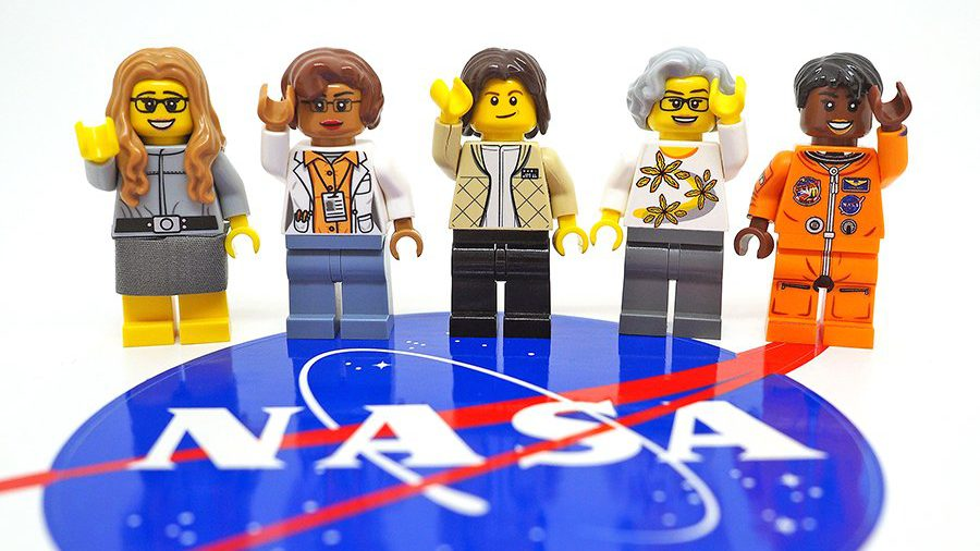 Lego's set of female NASA scientists