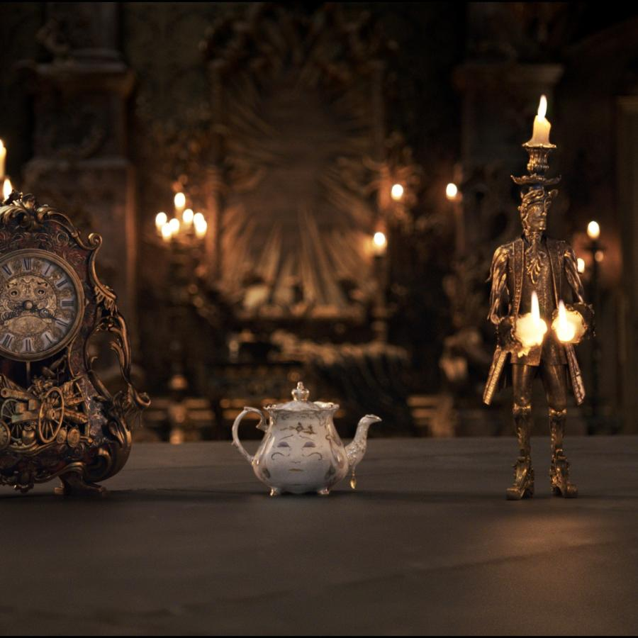 Beauty And The Beast Behind Disney S Dis Special Effects Struggle To Bring Mrs Potts To Life Quartz