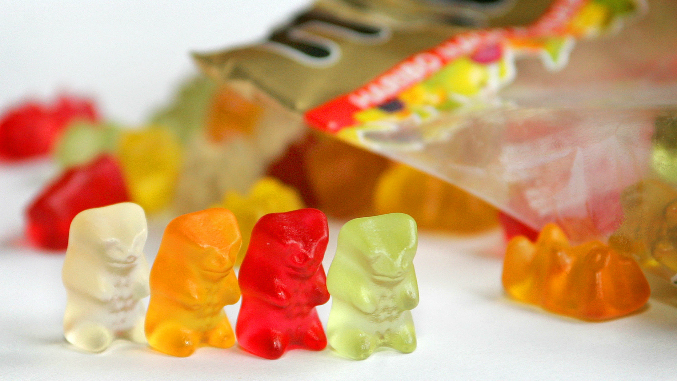 Haribo gummi bears storm the US.