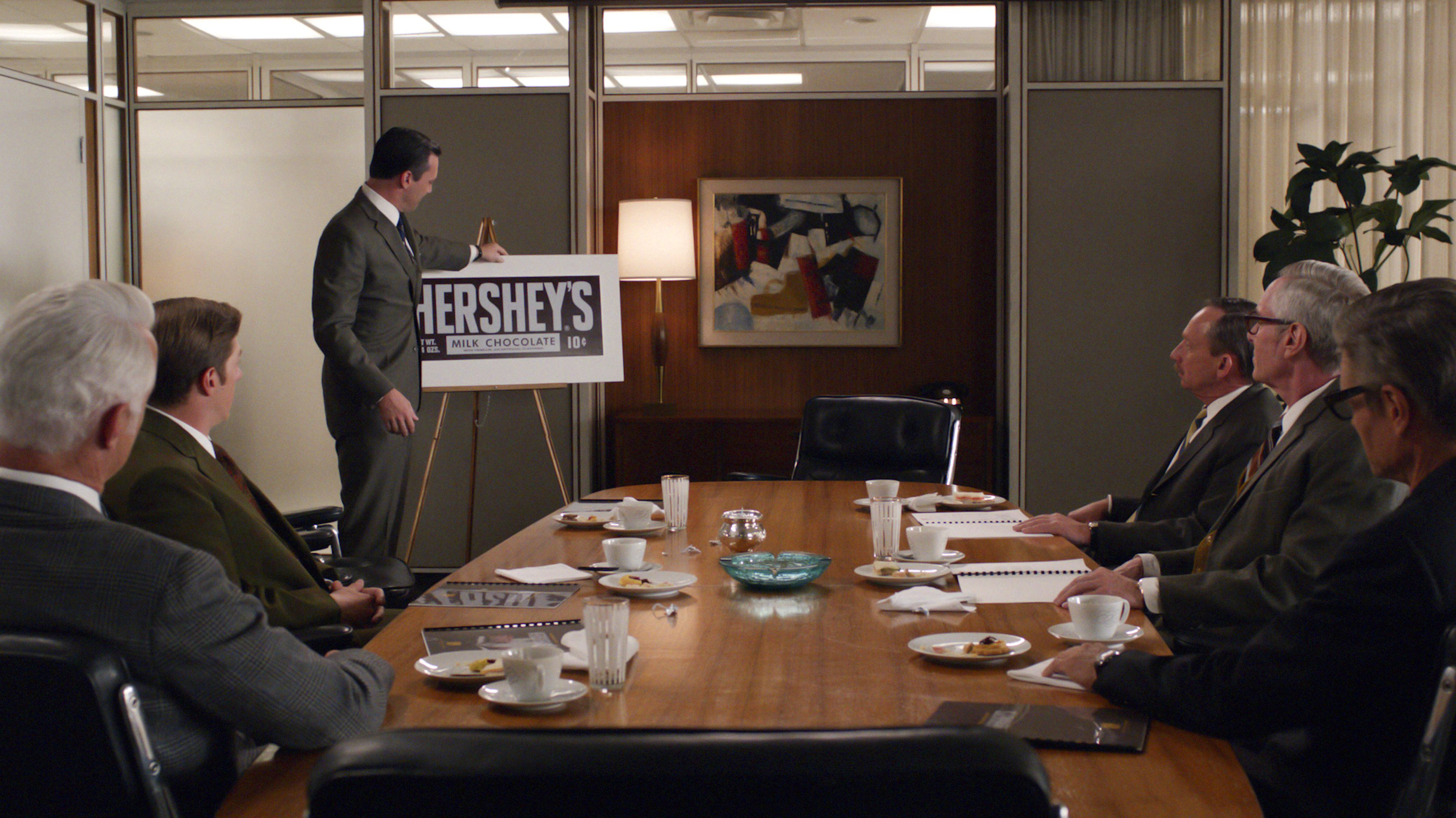 mad men donald draper hershey pitch