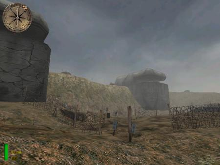 Screen capture, Medal of Honor: Allied Assault, EA Games