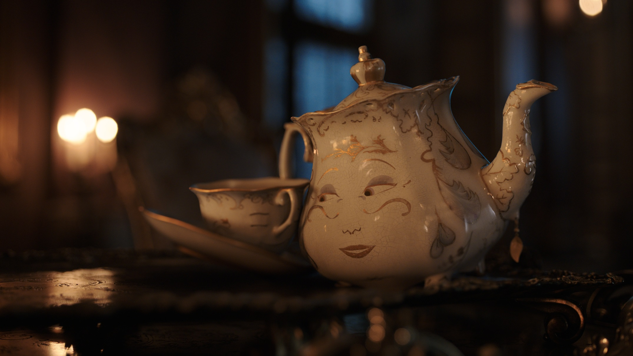 """Mrs. Potts from """"Beauty and the Beast"""""""
