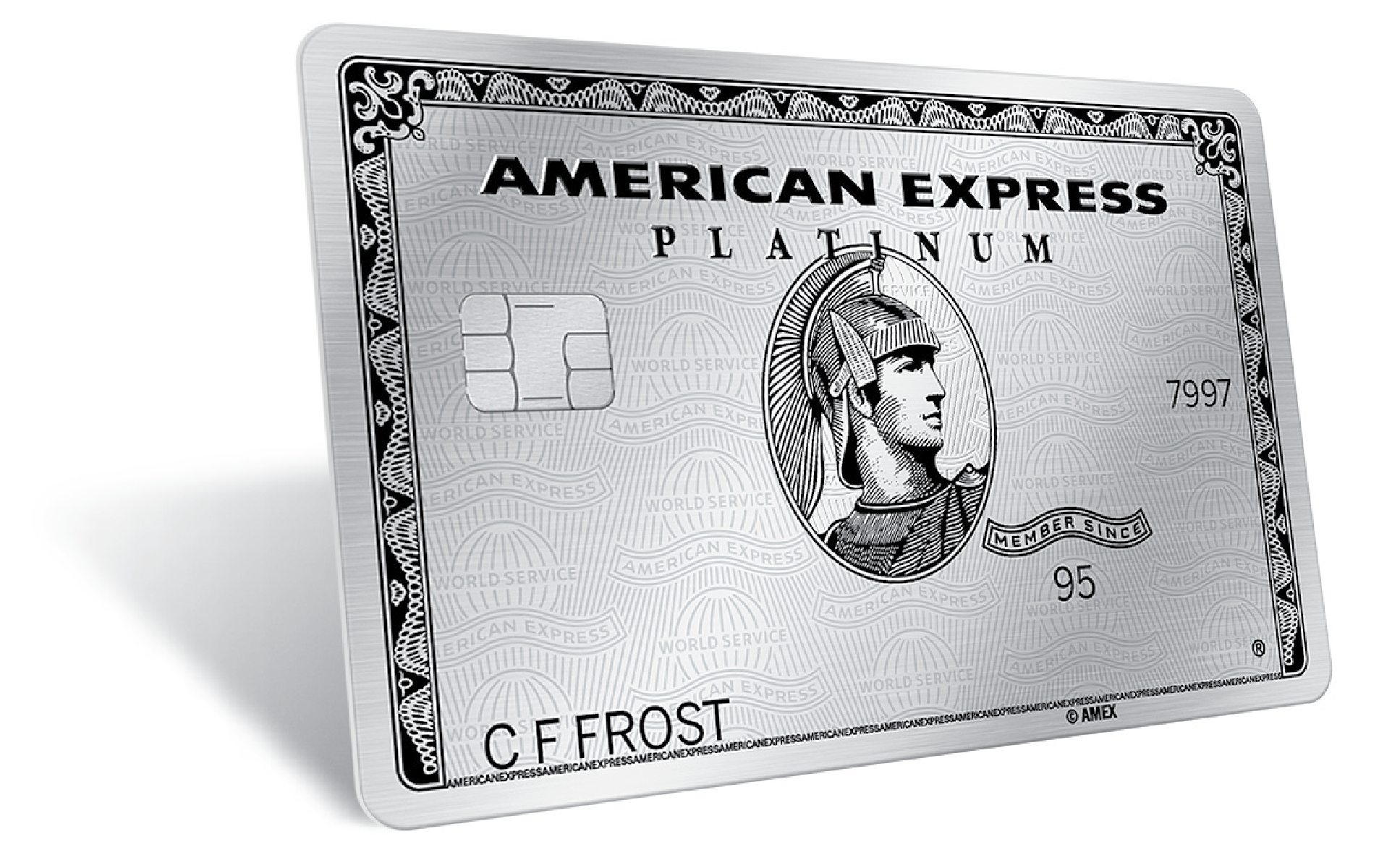 American Express Card >> The American Express Axp Platinum Card Is Stainless Steel