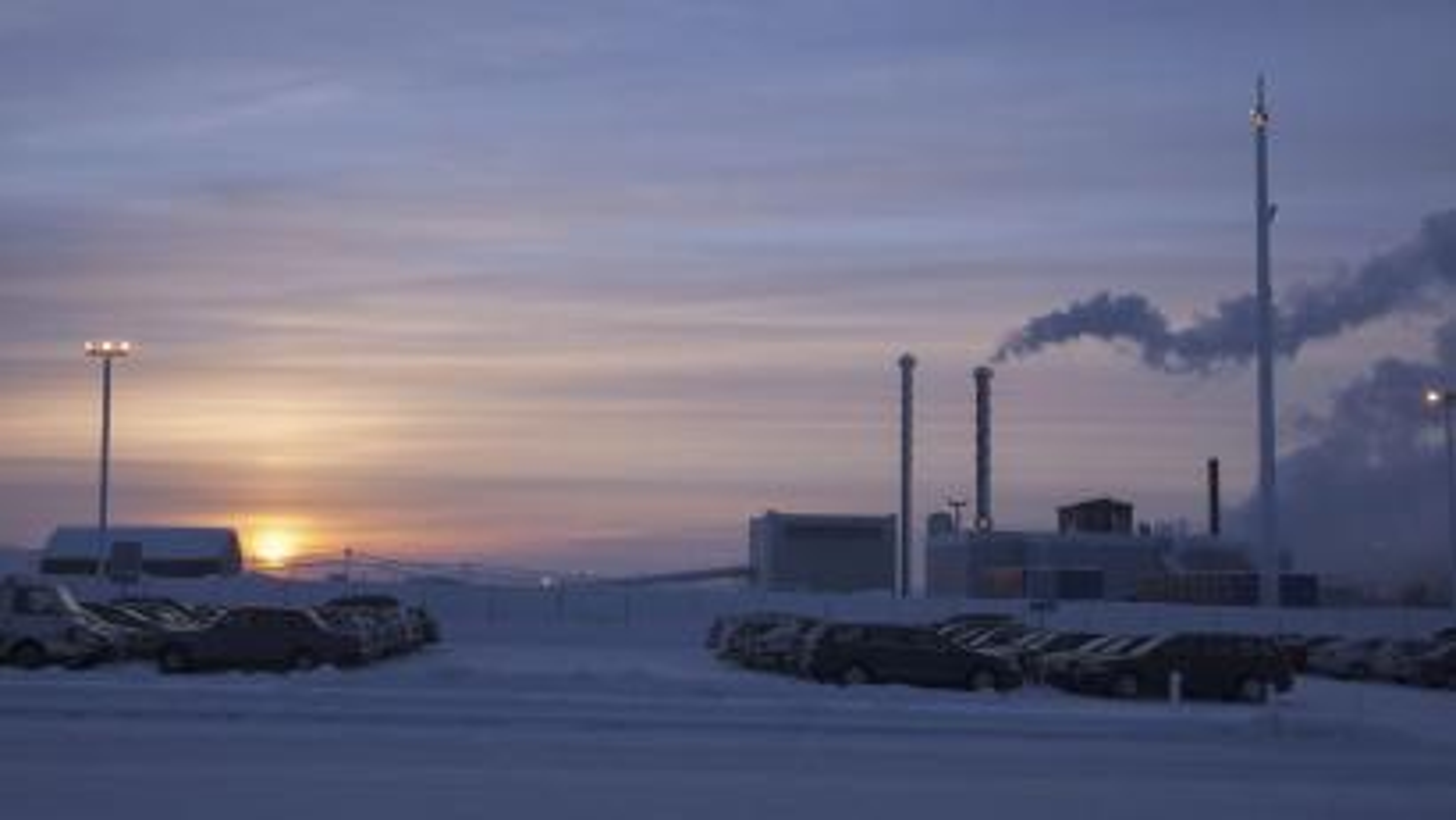 A nickel mine in Finland.
