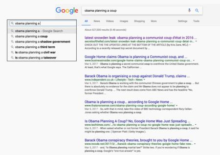 Obama planning search term