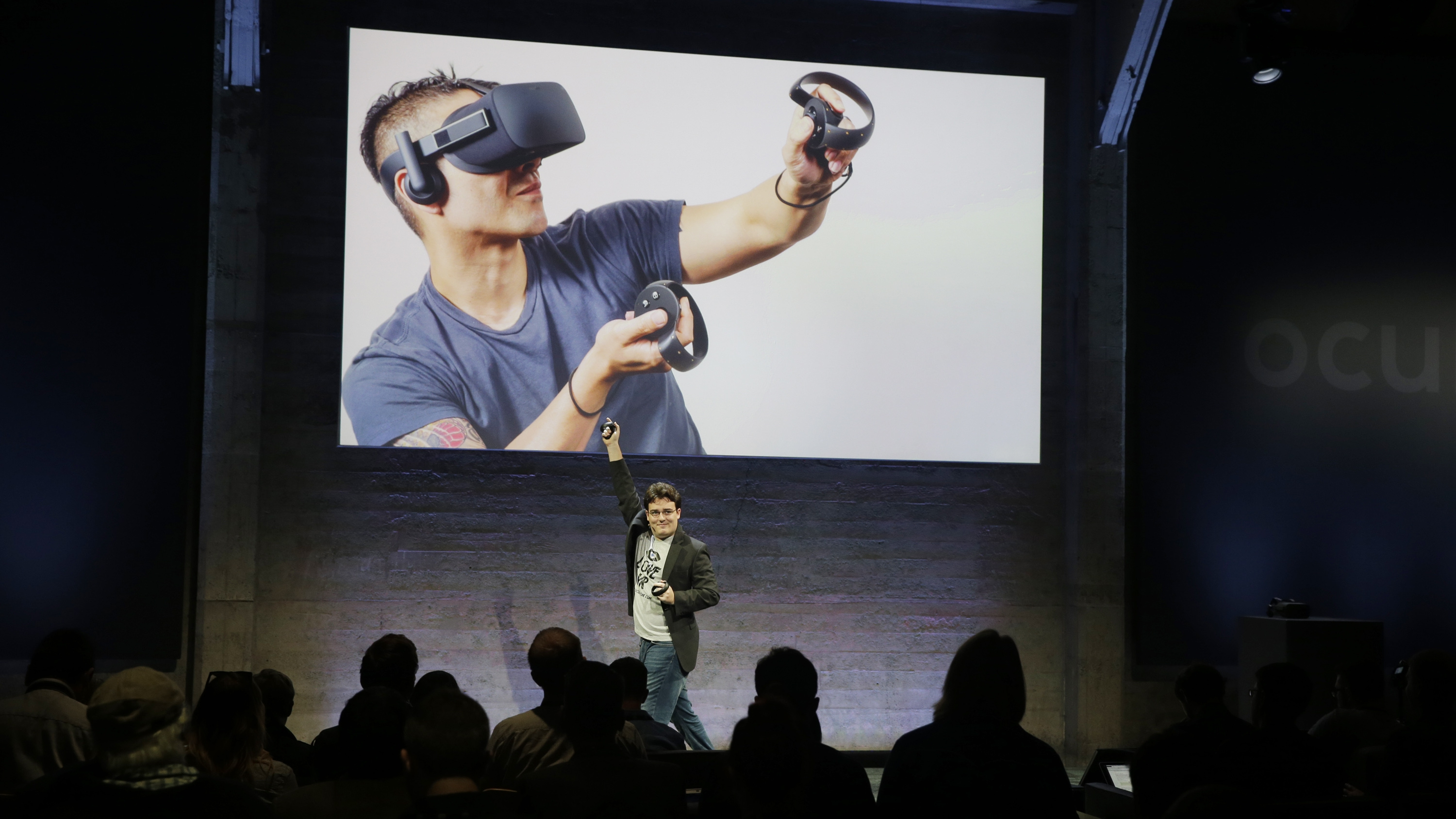 Palmer Luckey inventor of the Oculus Rift VR headset is out