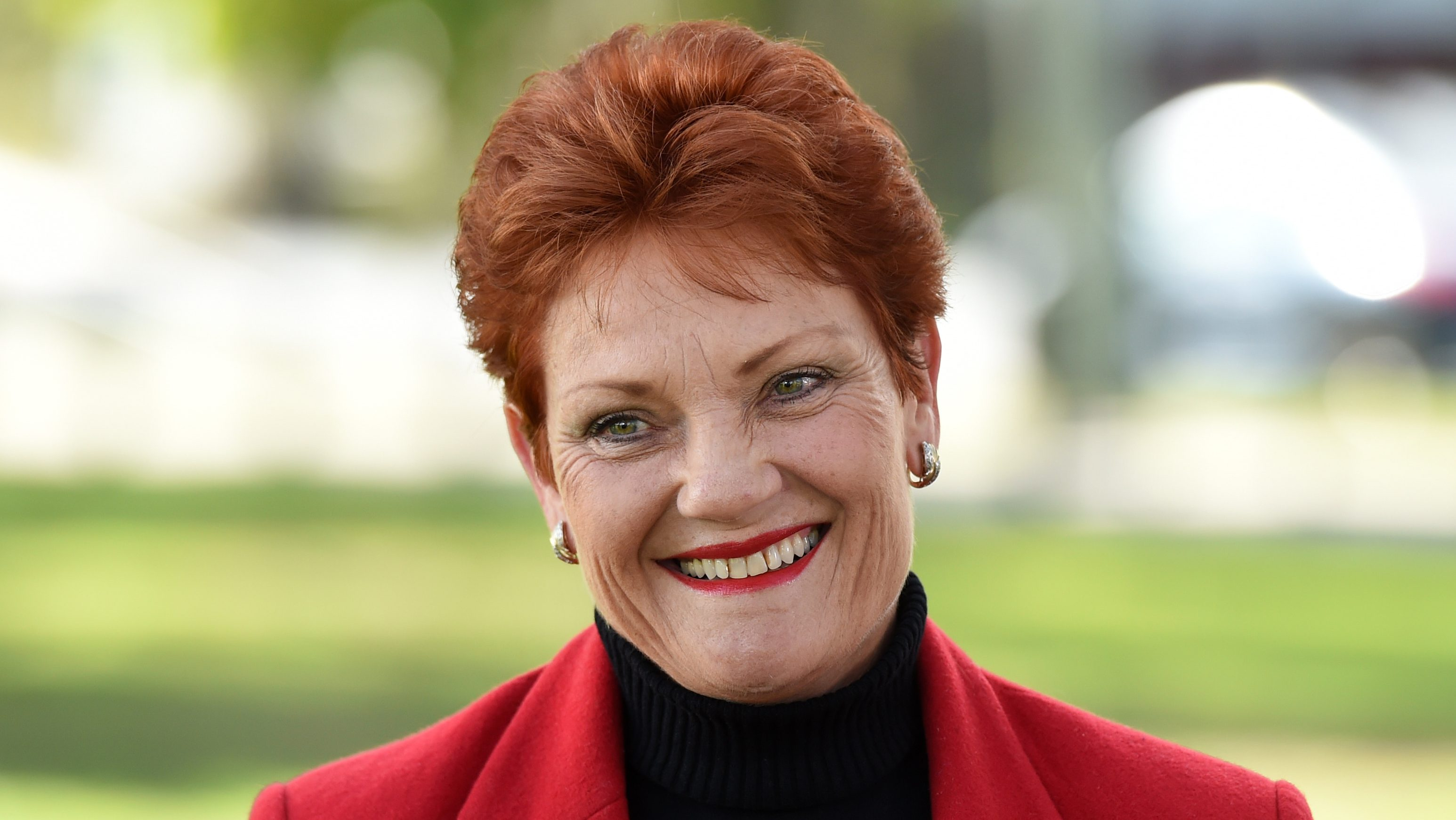 Queensland Senator-elect One Nation Party nominee Pauline Hanson takes questions from the media during a news conference in Brisbane, Australia, 04 July 2016. The One Nation Party is expected to win two Senate seats in Queensland, one in New South Wales and possibly one in Western Australia.