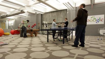 ping pong start up silicon valley tech