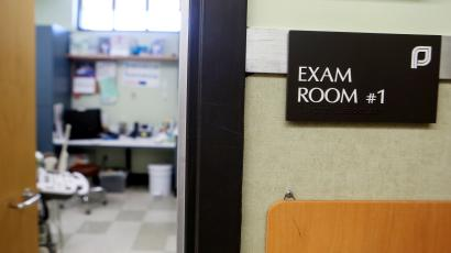 File PHoto: An exam room at the Planned Parenthood South Austin Health Center is shown in Austin, Texas, U.S. on June 27, 2016.
