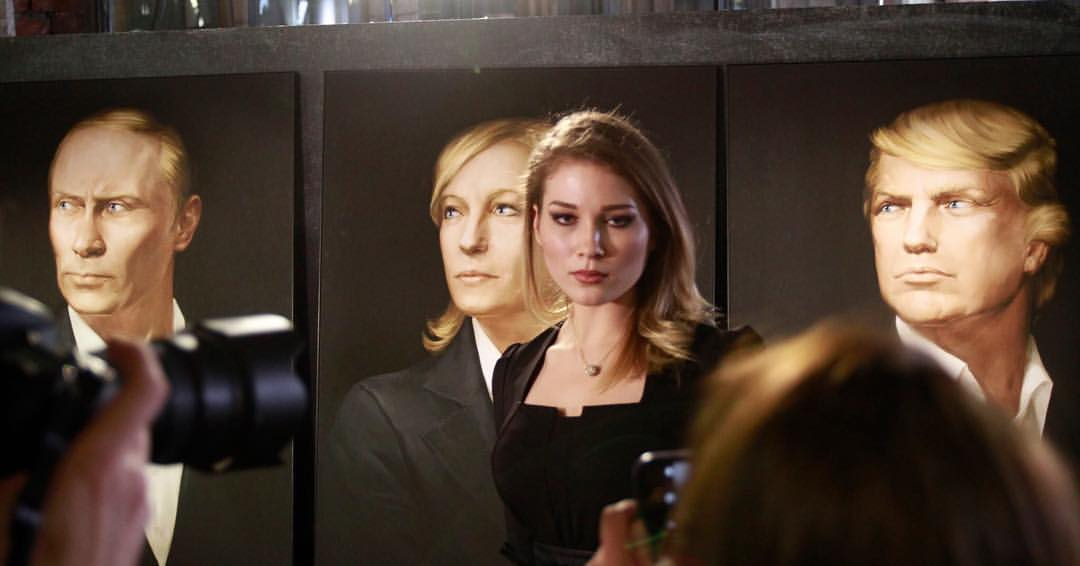 qz.com - Max de Haldevang - A glamorous young Russian nationalist is leading her country's love affair with Trump and Le Pen