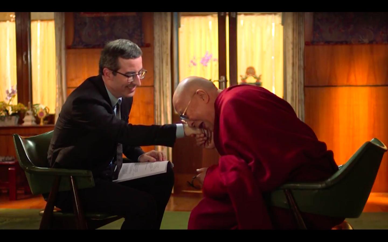 John Oliver the Dalai Lama
