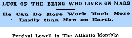 Lowell writing in The Atlantic Monthly