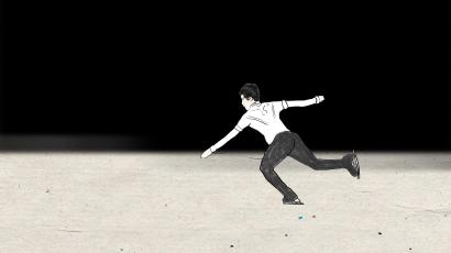 The physics behind figure skating's quadruple jump — Quartz