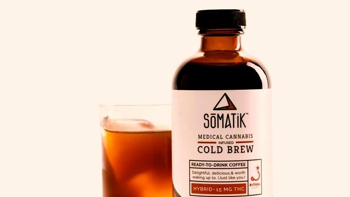 Somatik cold-brewed coffee.