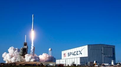 Elon Musk's SpaceX successfully launched a reusable rocket