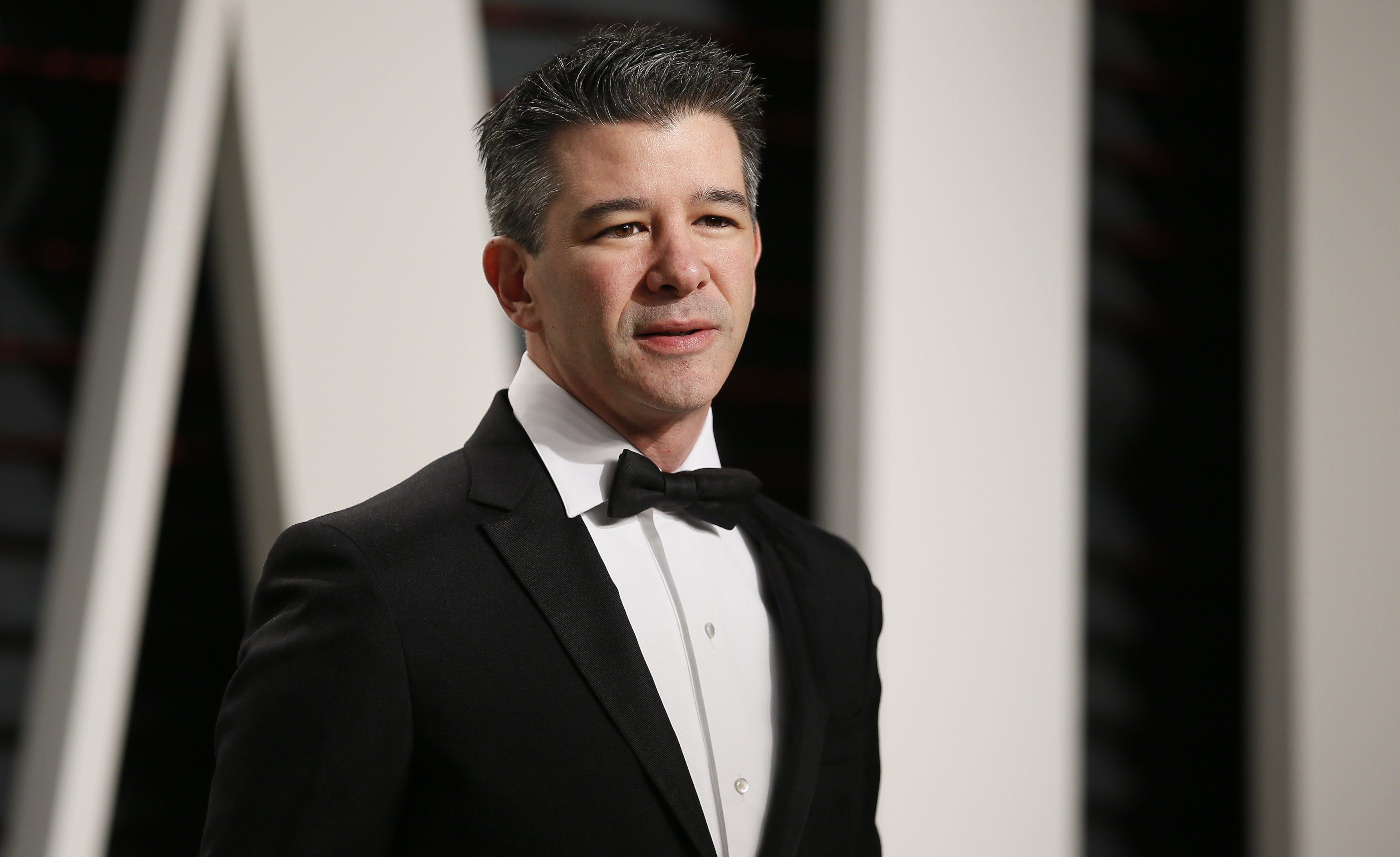 89th Academy Awards - Oscars Vanity Fair Party - Beverly Hills, California, U.S. - 26/02/17 – Uber co-founder Travis Kalanick. REUTERS/Danny Moloshok - RTS10HMR