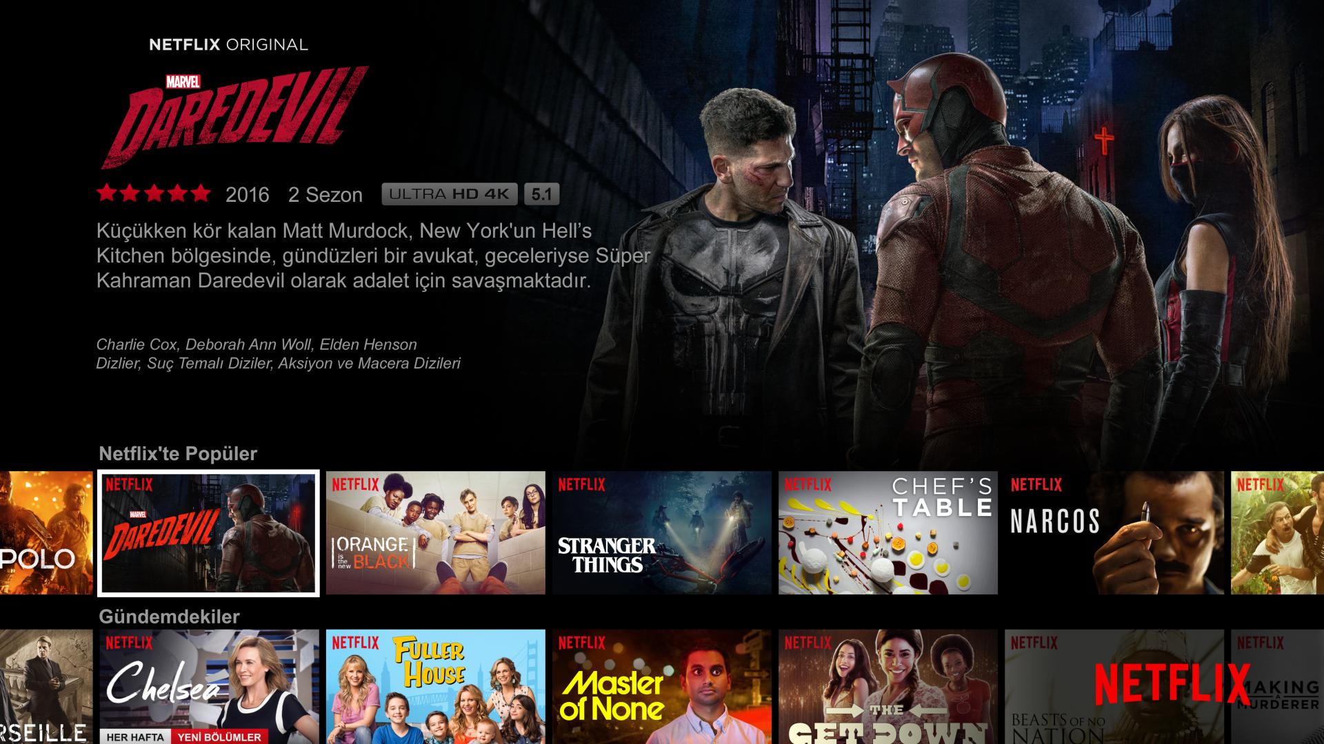 Netflix Turkish