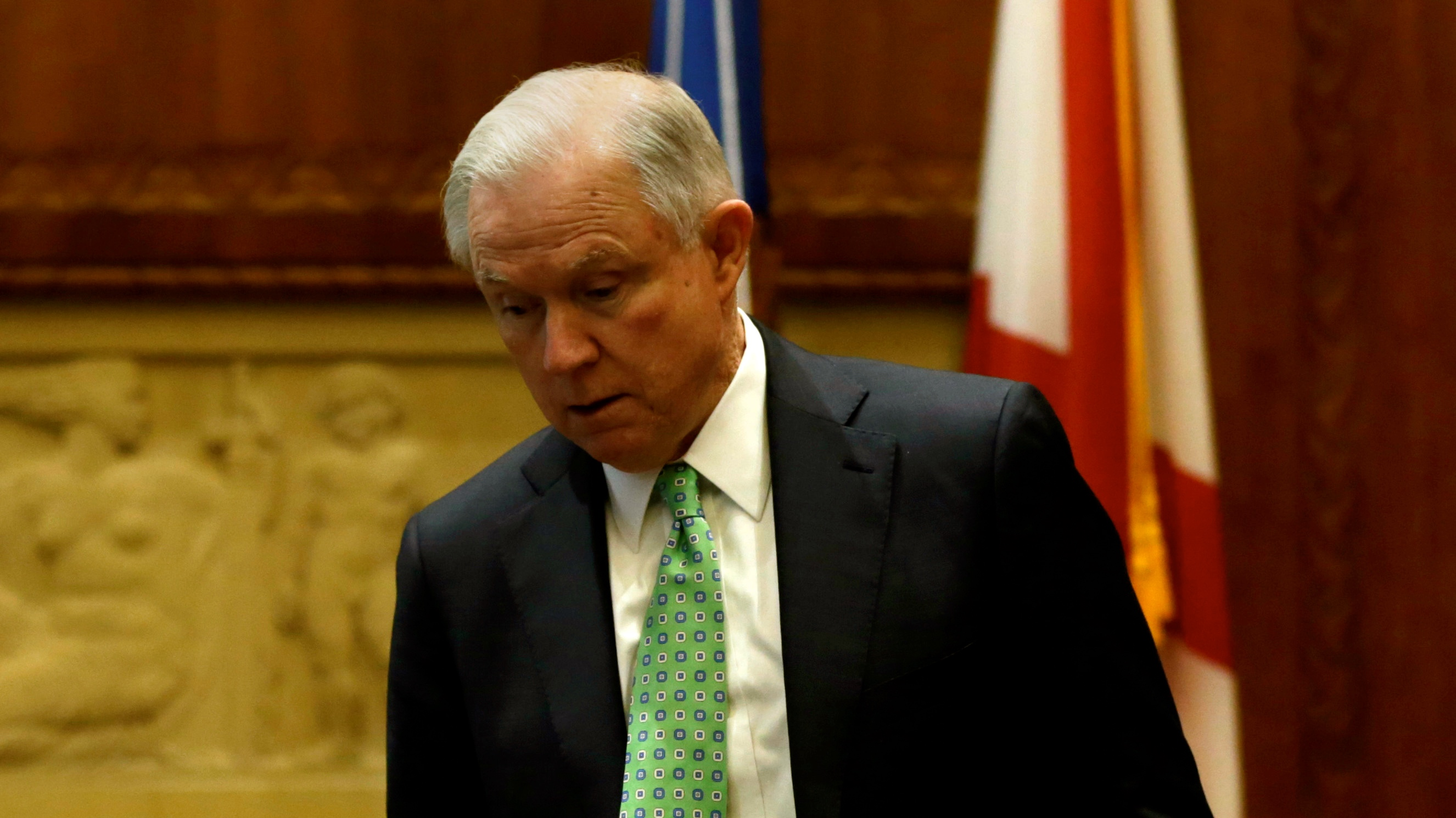 US AG Jeff Sessions.