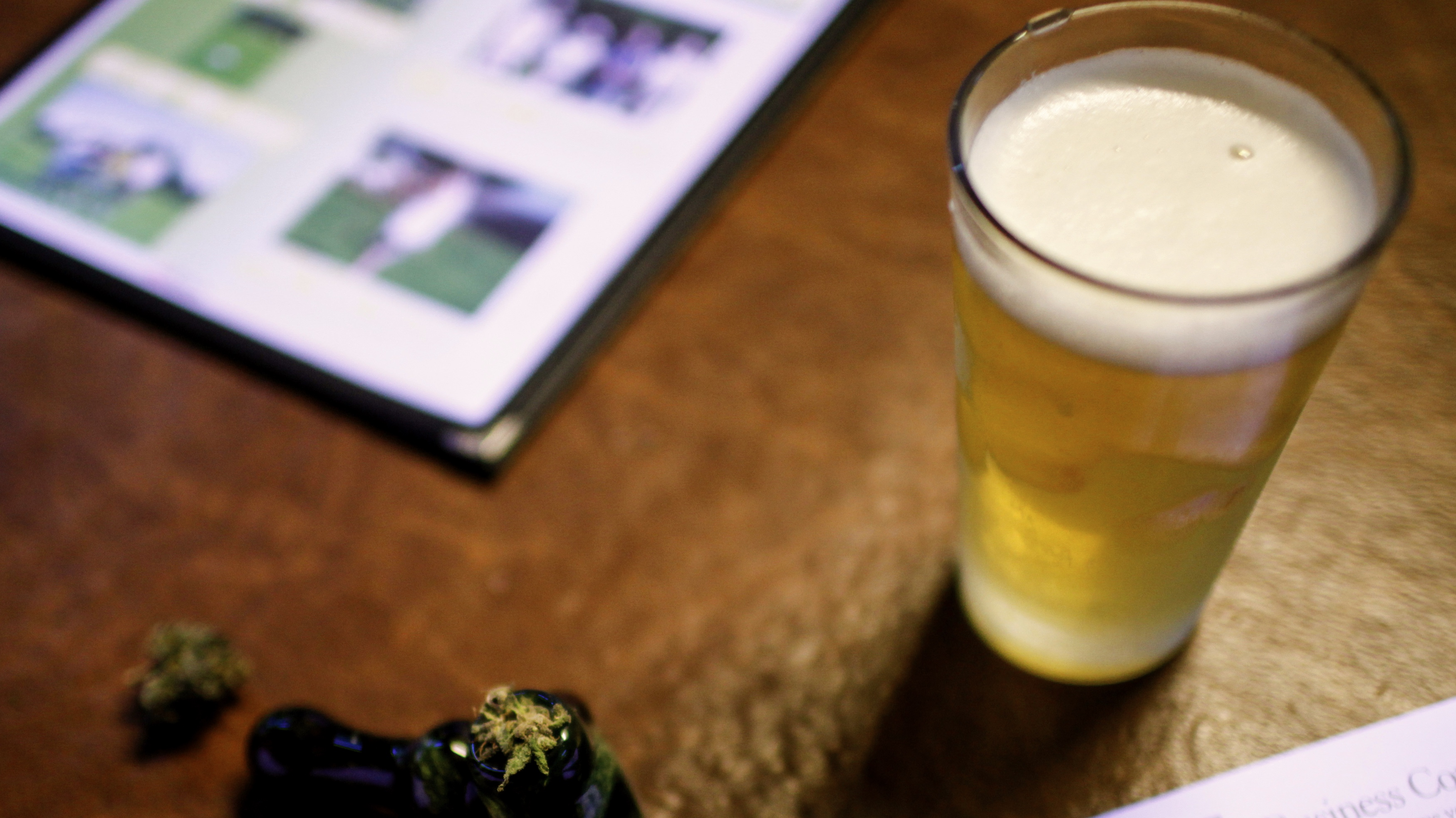 A quarter of US beer drinkers have switched to marijuana, or would