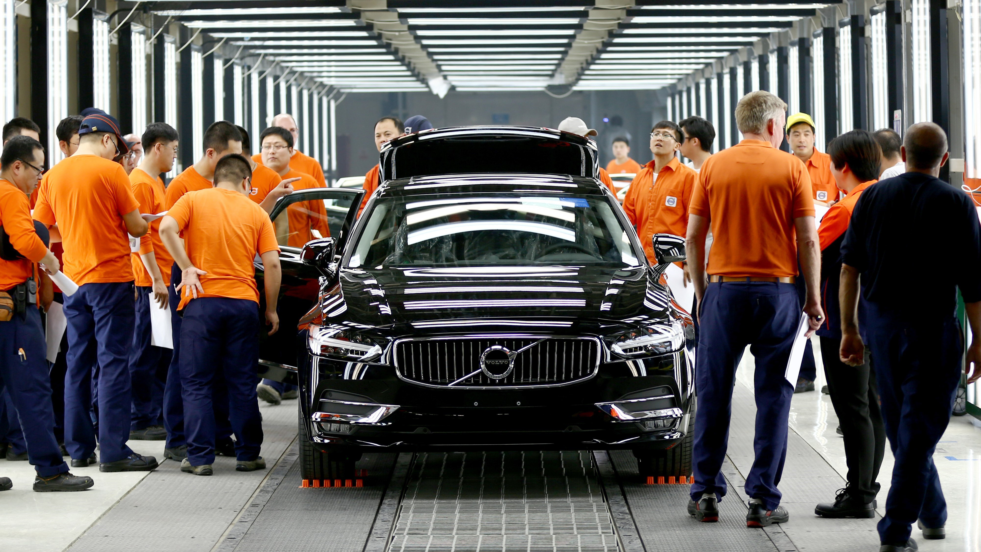 Volvo plans to give Tesla (TSLA) some legitimate competition in the affordable electric car ...