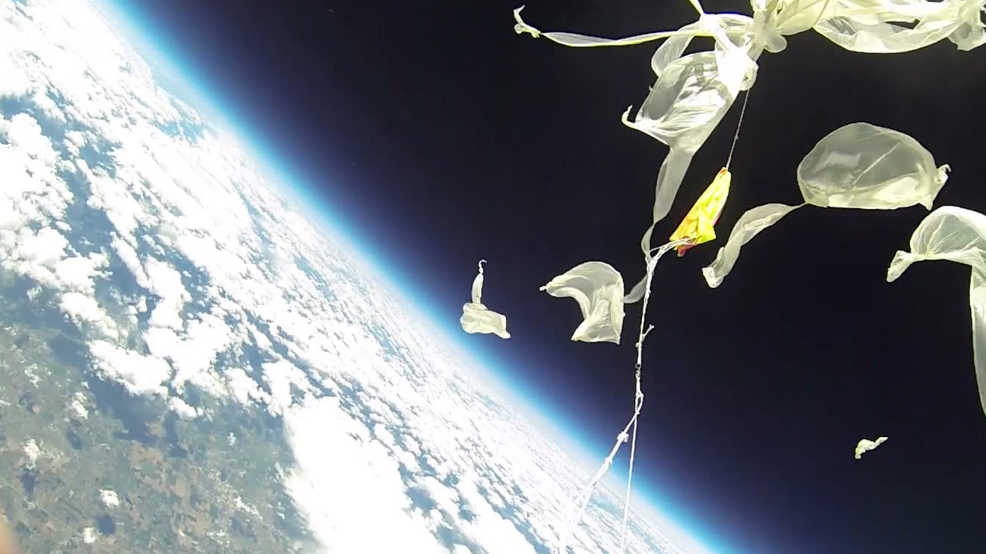 weather balloon for site
