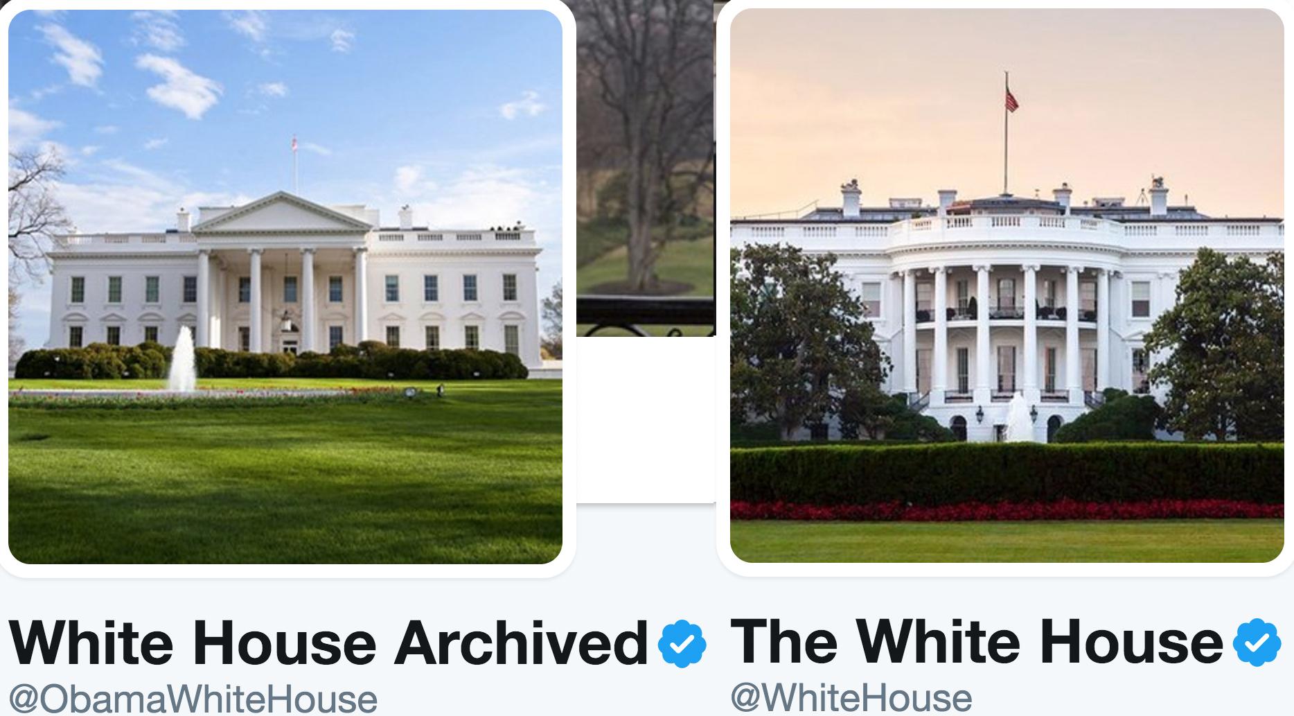White House Twitter Photo
