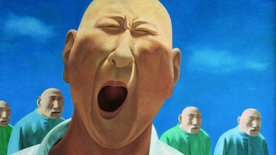 Wu Zhihong, Nation of Giant Babies, illustration