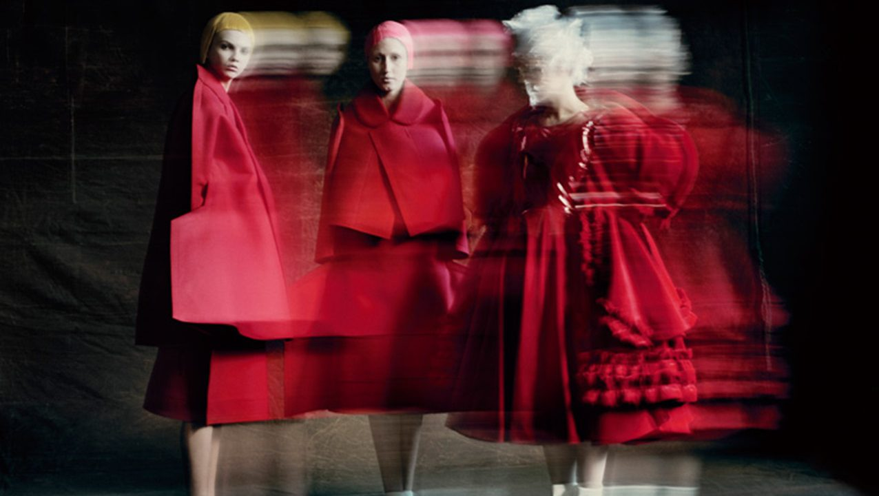 Rei Kawakubo (Japanese, born 1942) for Comme des Garçons (Japanese, founded 1969); Courtesy of Comme des Garçons. Photograph by © Paolo Roversi
