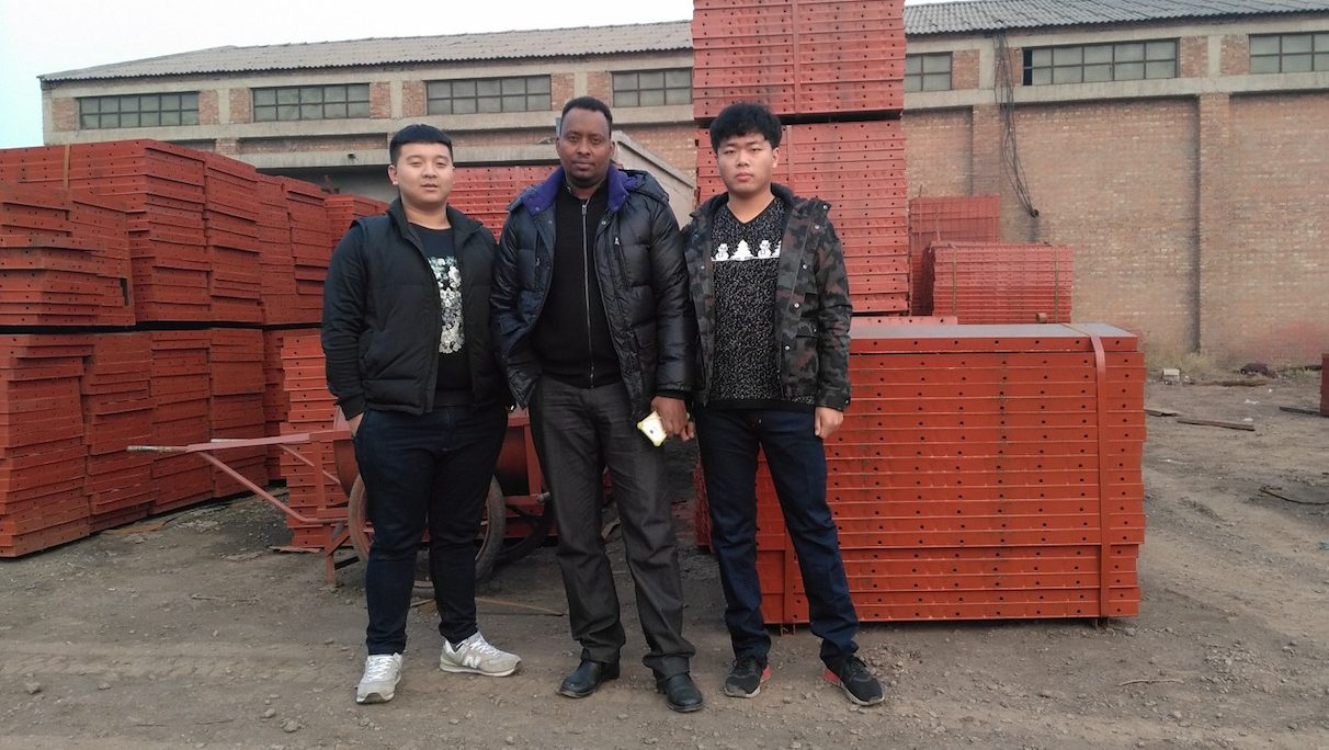 Abdi Haji, a businessman from Somaliland, in Yiwu China where he works as a broker for African traders.